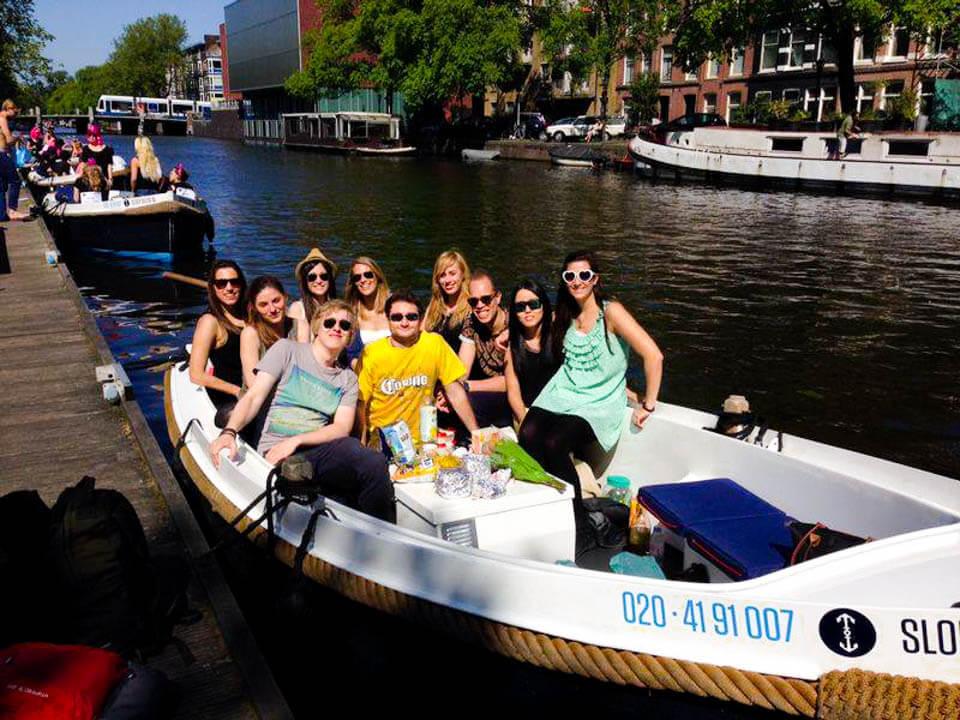 Sloepdelen boat rental Amsterdam
