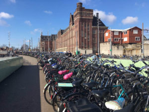 bikes-in-Amsterdam-near-central-station