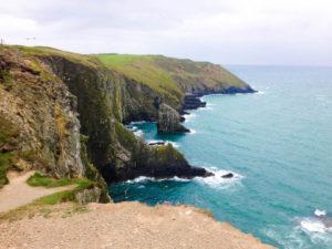 Cliffs in Ireland in Kinsale