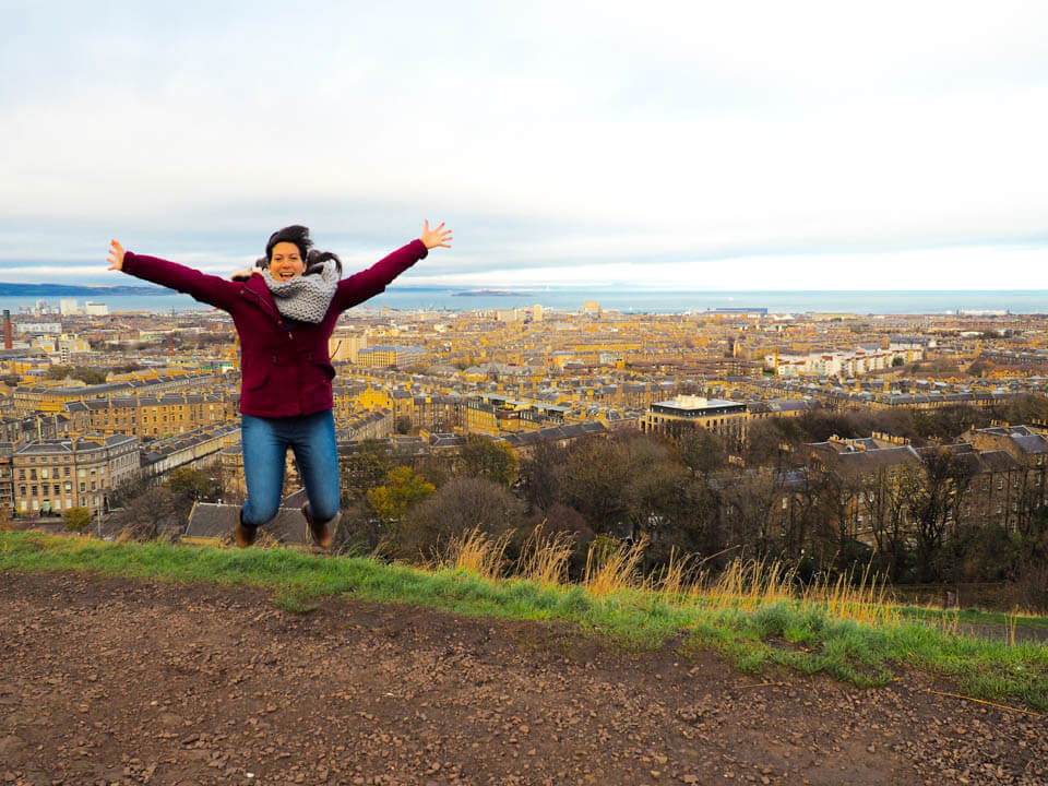 48 hours in Edinburgh Calton hill