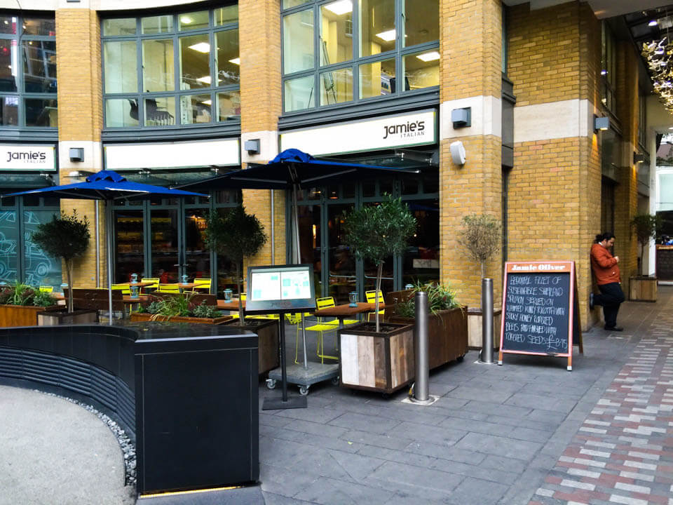 best restaurants in London Jaimie_Oliver_restaurant_London