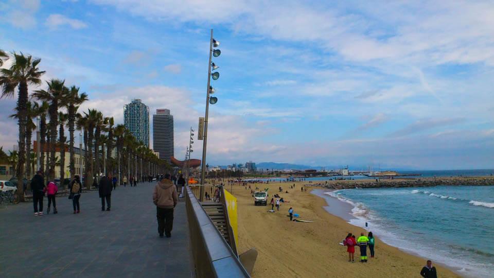 Beach_Barcelona