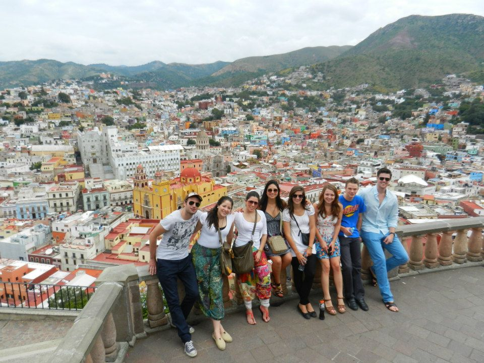 Guanajuato view from Pipila