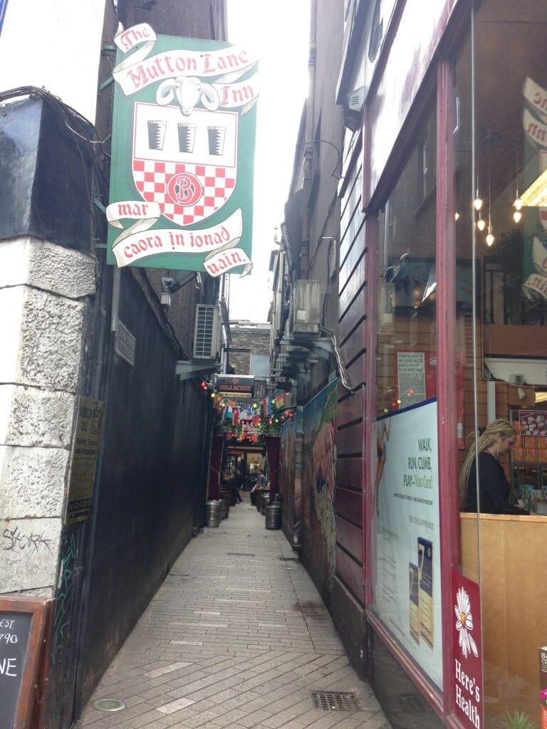 Mutton Lane Pub in Cork