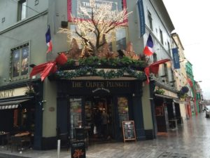 Oliver Plunkett best Irish pub in Cork
