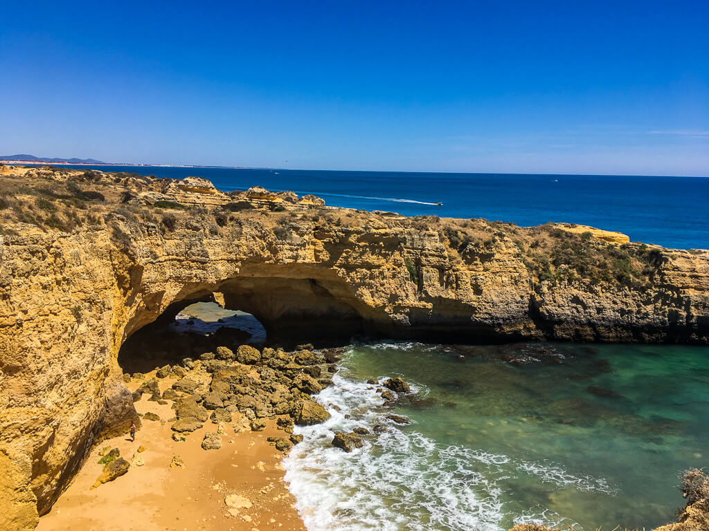 cliffs-in-the-Algarve-Portugal