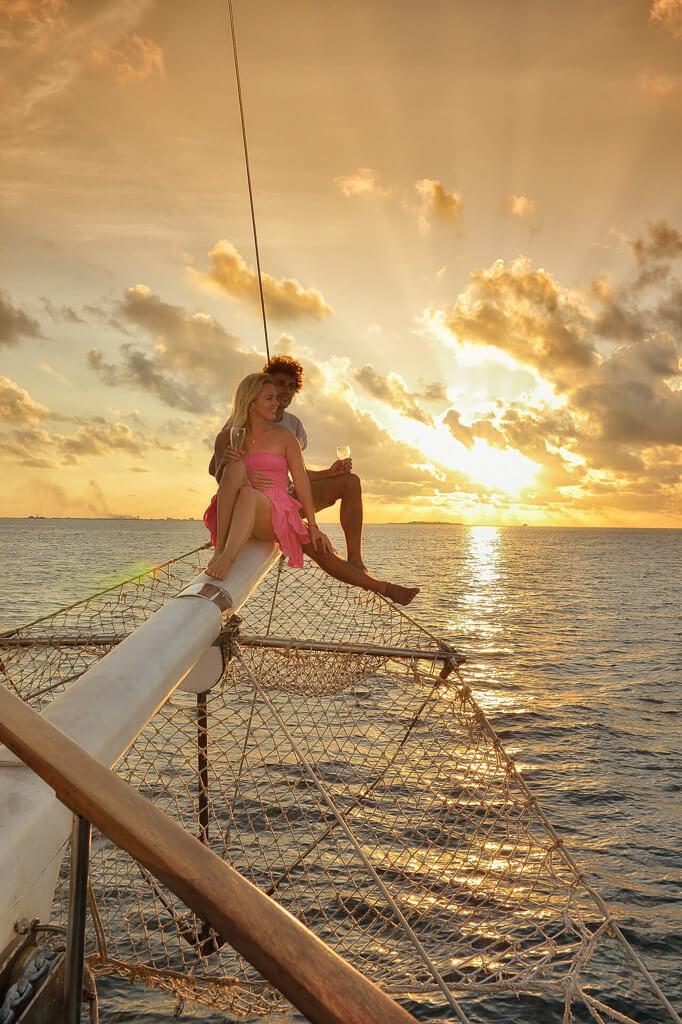 couple-at-the-maldives