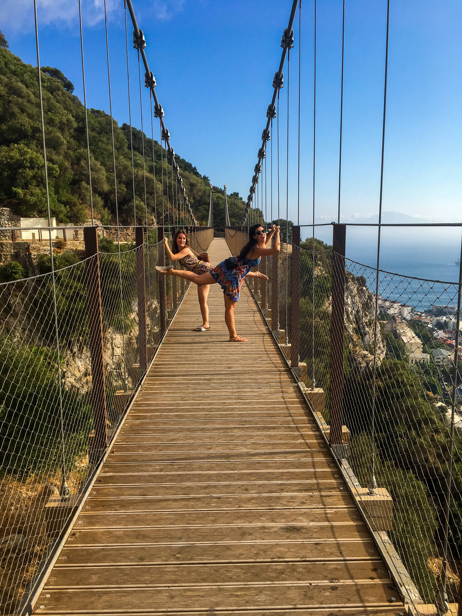 Hanging-bridge-Gibraltar