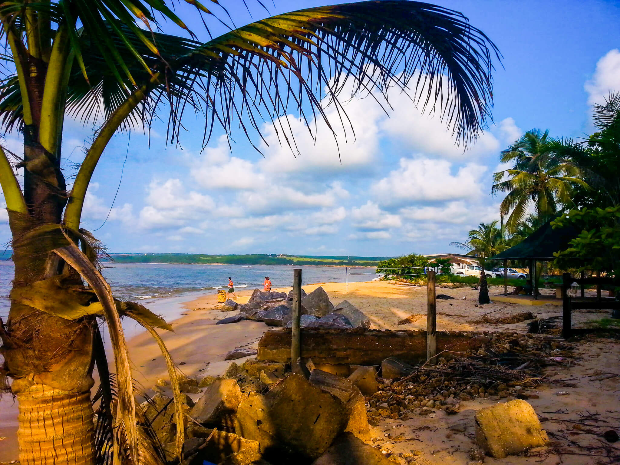 beach in Congo