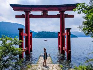 Hakone Shrine Torii Gate