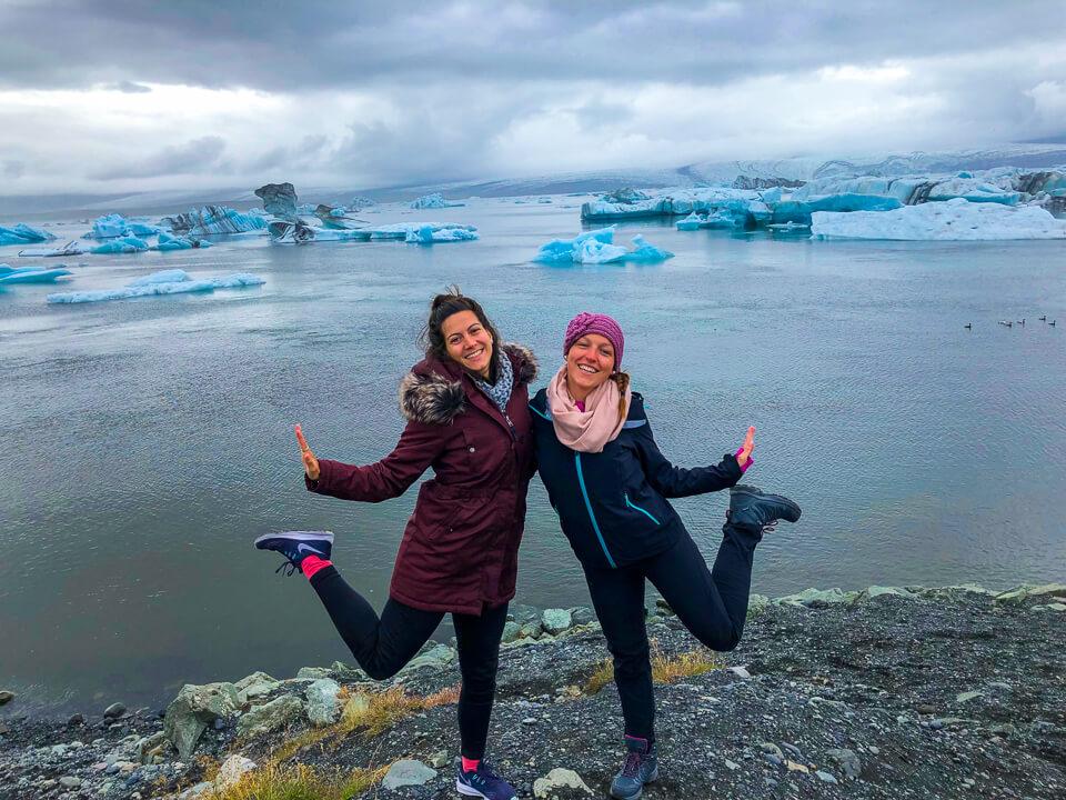 Jökulsárlón in iceland