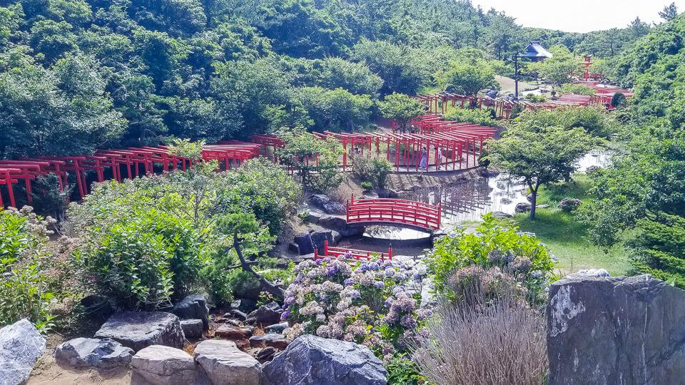 Takayama Inari Shrine in Aomori Prefecture