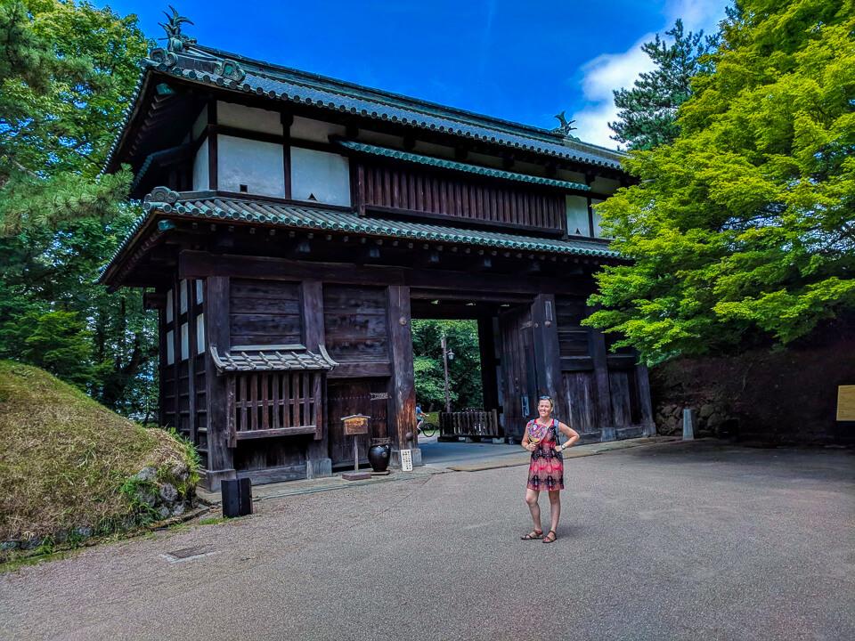 Takayama Inari Shrine in Aomori Prefecture in Japan