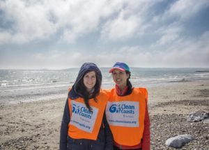 Beach clean up in Ireland