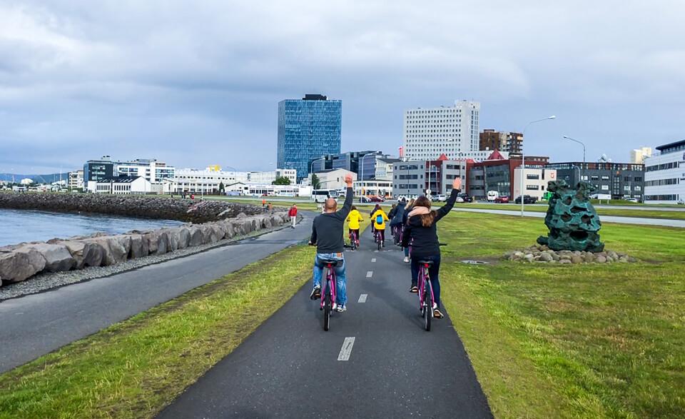 Bike tour through Reykjavik with WOWcitybike
