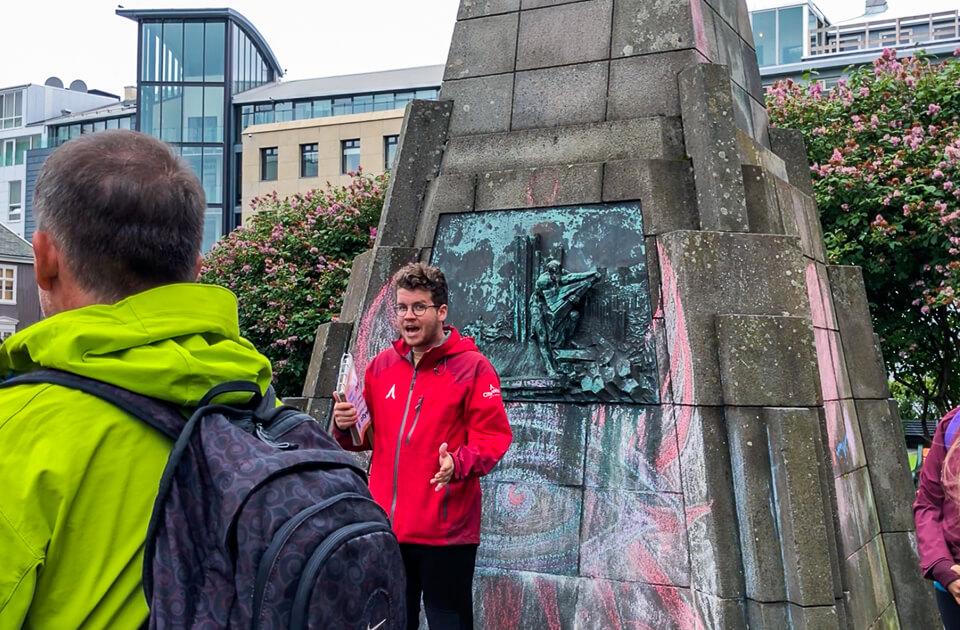 Free walking tour with CityWalk Reykjavik