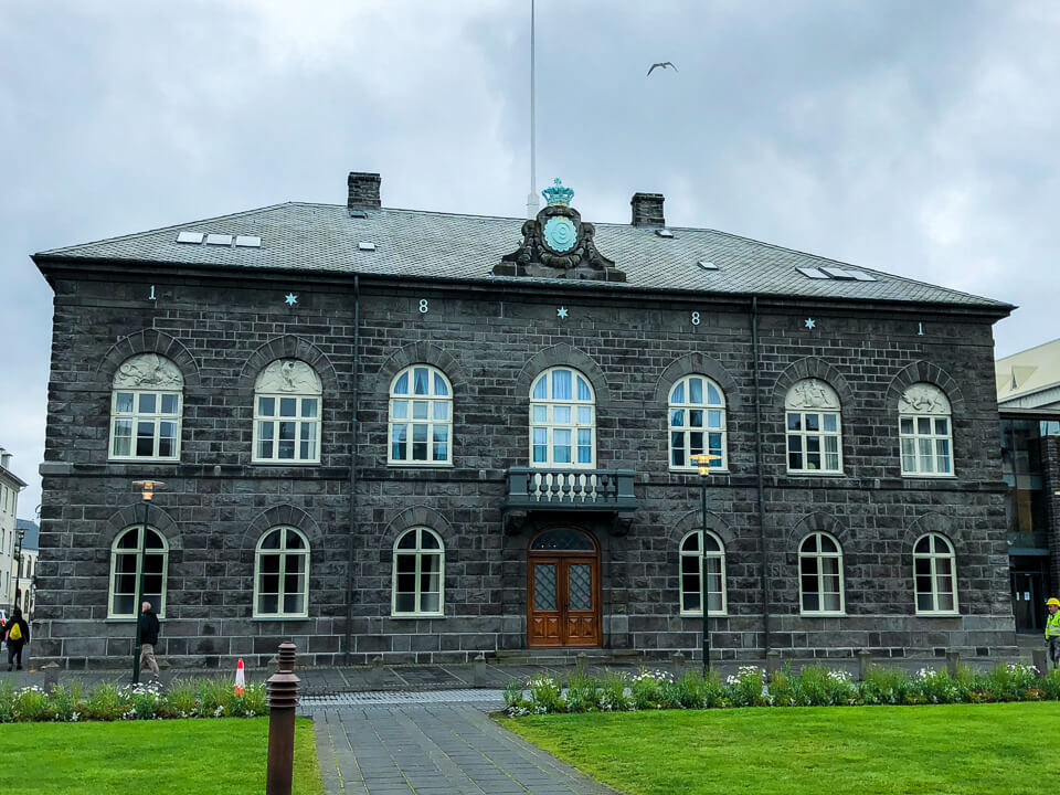 Parlament of Iceland in Reykjavik