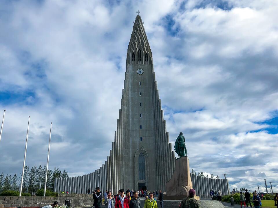 church Hallgrímskirkja in reykjavik