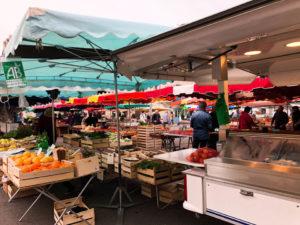Weekend farmers market
