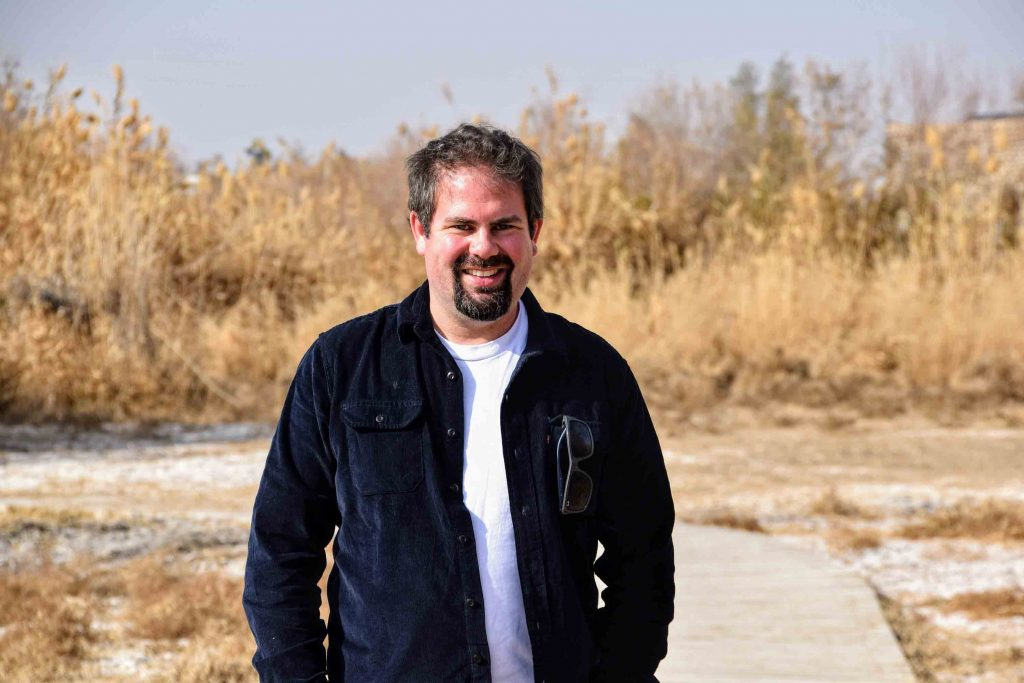Bastian-from-Livin-in-Jordan-as-an-expat-at the-Wetland-Reserve