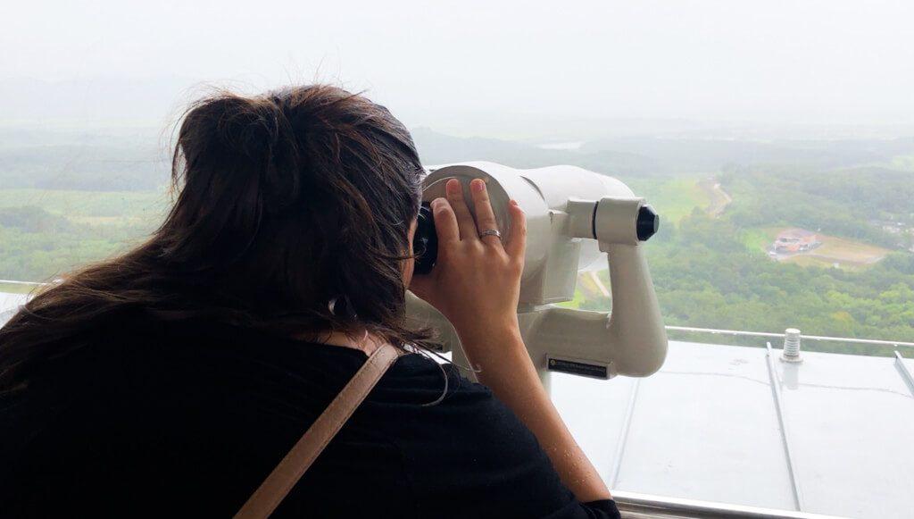 Dora-Observatory-platform-at-DMZ-tour-in-South-Korea