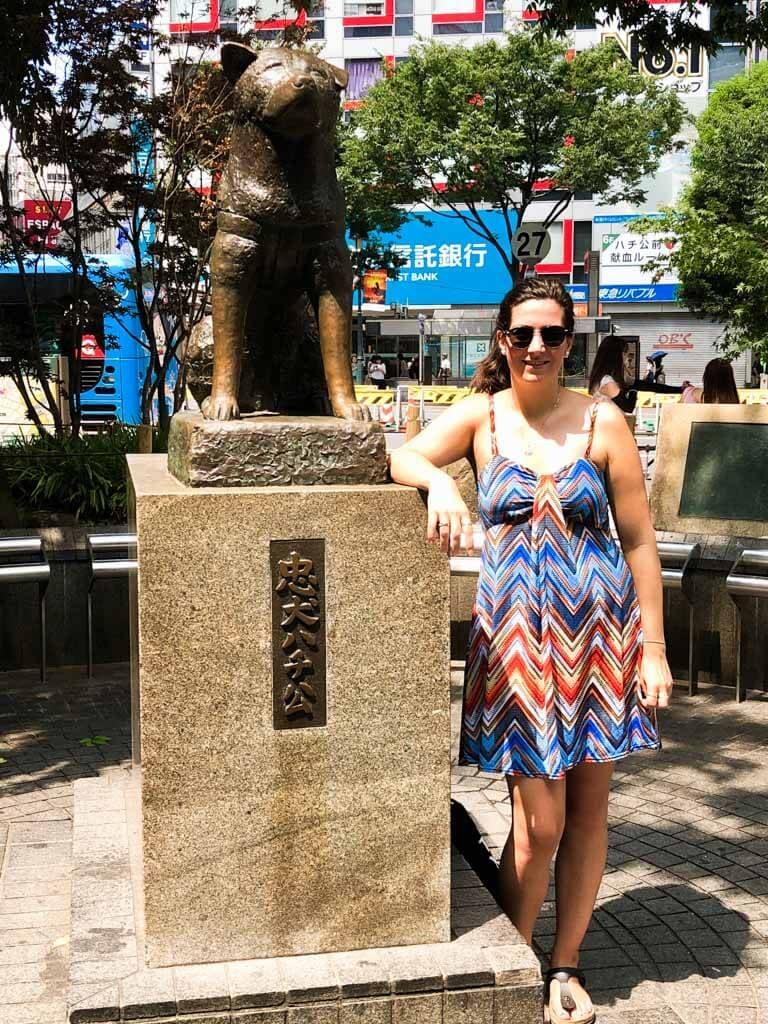 Tokyo on a budget - Hachiko-Memorial-Statue