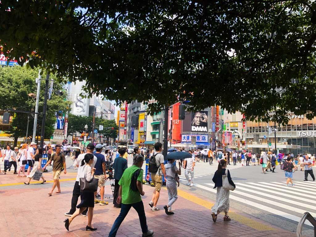 Tokyo on a budget - Shibuya Crossing