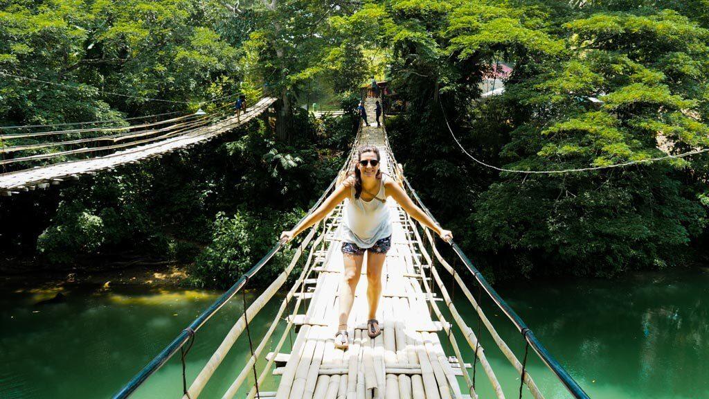 Bamboo-Hanging-Bridge-in-Bohol-island
