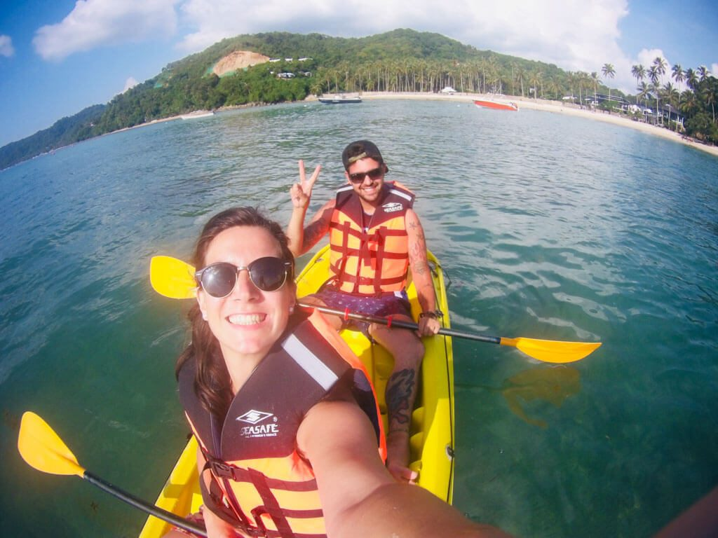 kayaking in El Nido Philippines