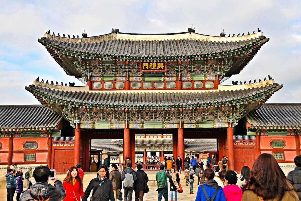 24-Stunden-in-Seoul-Gyeongbokgung-Palast-Besuch