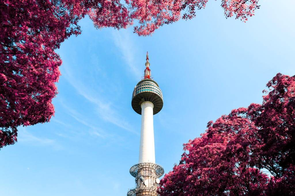 24-Stunden-in-Seoul-Seoul-Tower