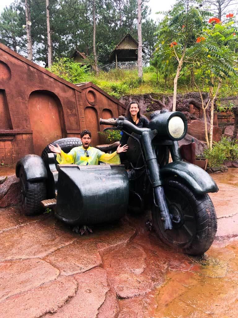 having-fun-in-Clay-Tunnel-Park-in-dalat-vietnam