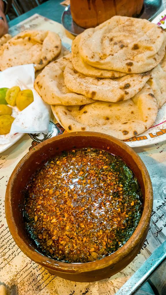 Molokheya-local-Egyptian-dish