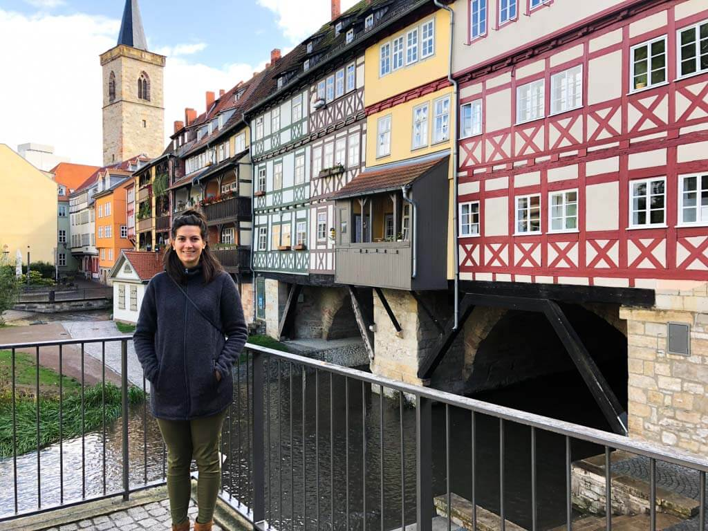 famous-sight-in-Erfurt-Krämerbrücke