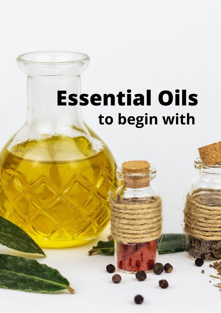 9 Essential Oils to begin with